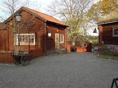 valokuva Tukholman Skansenin ulkoilmamuseo ja eläintarha