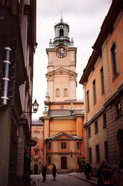 lomamatka Ruotsi Tukholma Suurkirkko valokuva