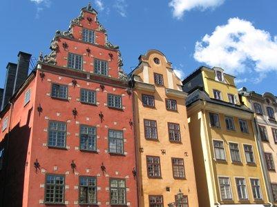 Tukholman vanhan kaupungin arkkitehtuuria