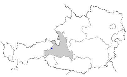 kartta kuva Alpit Saalbach-Hinterglemm Itävalta