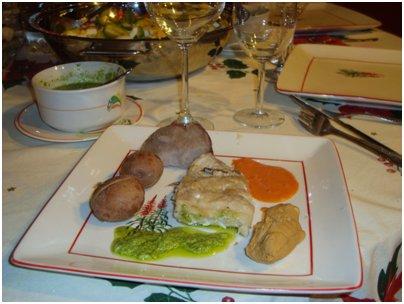 Espanja Kanariansaaret ruoka Sancocho canario kanarian saarten perinteinen kala-ateria