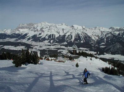 valokuva Alpit Schladming loma matka Itävalta