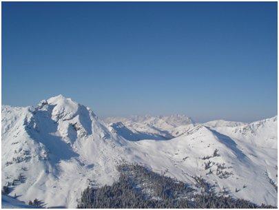 Alpit Saalbach-Hinterglemm kuva Spielberghorn Itävalta