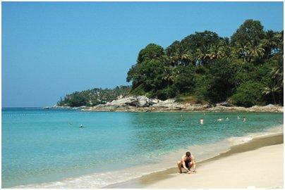 Surin hiekkaranta kuva Phuket Thaimaa uimaranta loma matka