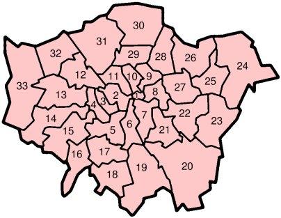 kuva Englanti Lontoo Suur-Lontoon hallintoalue
