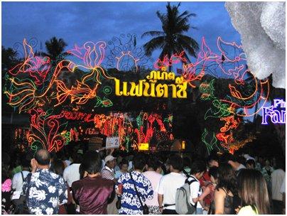 FantaSea teemapuisto kuva Phuket Thaimaa loma matka
