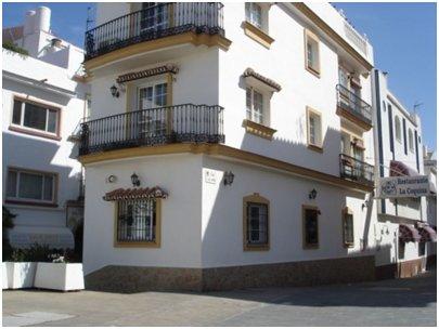Espanja Andalusia Costa del Sol Malaga Torremolinos Calle San Miguelin ostoskatu