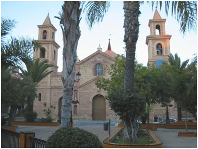 torrevieja suosittu nähtävyys Iglesia Arciprestal de la Inmaculada Concepción monumentti