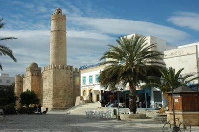 Ribat eli luostarilinnoitus Sousse Tunisia matka kuva
