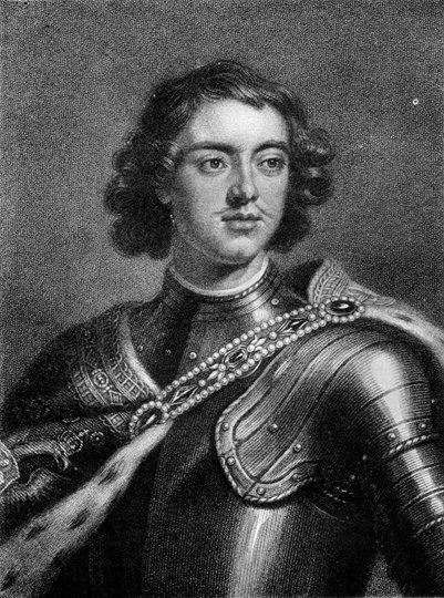 kuva Venäjän hallitsija Pietari Suuri