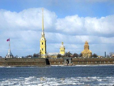 kuva Pietari-Paavalin linnoitus ja katedraali Pietari Venäjä loma matka