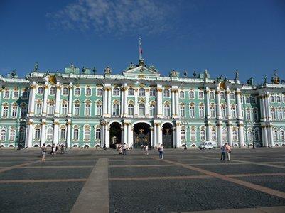 kuva Talvipalatsi Pietari Venäjä loma matka