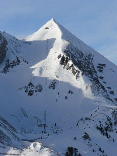Obertauernin vuorenrinnettä Itävallan Alpeilla